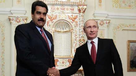 Putin prometió apoyo a Nicolás Maduro, quien busca en Moscú ayuda financiera