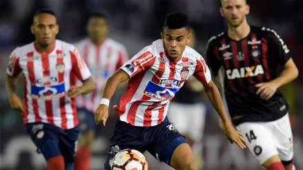 Junior y Atlético Paranaense igualaron 1-1 en la primera final de la Sudamericana