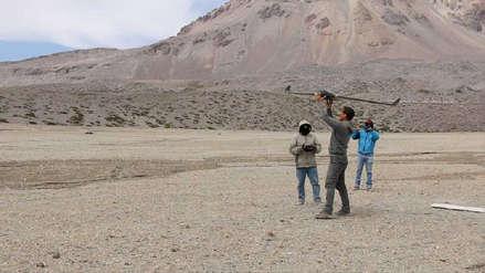Erupción volcánica | Drone monitorea el Sabancaya en Arequipa [Video]