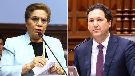 Luz Salgado le pide a Daniel Salaverry convocar al Pleno para ver el caso Mamani