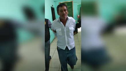 Policía detuvo a acusado de violar a adolescente de 15 años