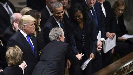 La historia detrás del dulce gesto que tuvo George W. Bush con Michelle Obama