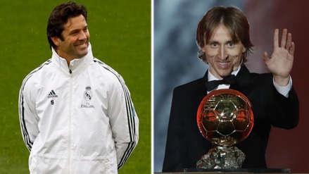 Lluvia de elogios: el mensaje de Santiago Solari a Luka Modric por el Balón de Oro