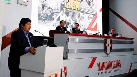 Edwin Oviedo confirmó cambios importantes para la nueva Liga de Fútbol Profesional