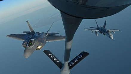 Seis desaparecidos tras choque de aviones militares estadounidenses en Japón
