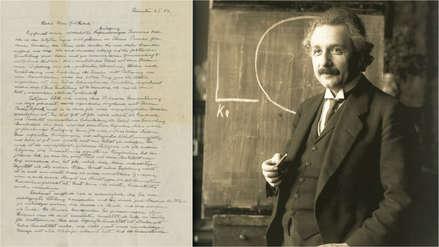 ¿Qué pensaba Albert Einstein sobre la existencia de Dios? Una carta vendida en US$ 2.89 millones lo explica