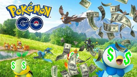 Pokémon Go ha generado ventas de 80 millones de dólares sólo en el mes de noviembre
