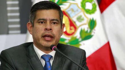 Galarreta pidió presencia del ministro del Interior en el Congreso tras denuncia de 'chuponeo'