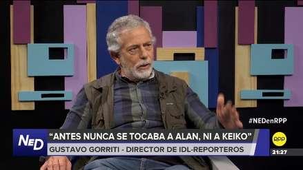 Gustavo Gorriti: Existe la posibilidad de que Pedro Chávarry separe al fiscal Rafael Vela y a Domingo Pérez