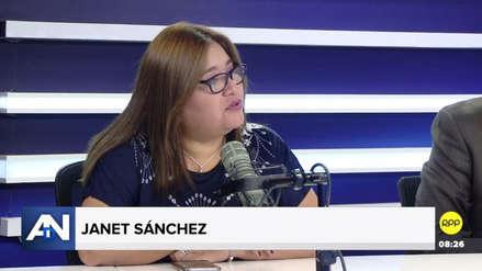 Janet Sánchez denunció que Tubino es el único vocero que no firmó la ampliación de la agenda para ver el caso Mamani