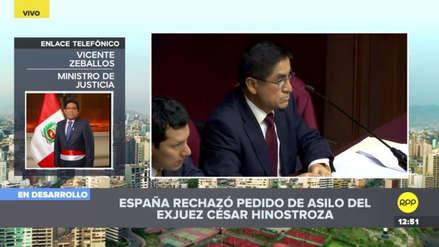 Perú cree que España le dio