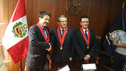 Video | Carlo Magno Cornejo Palomino es elegido presidente de la Corte Superior de Justicia de Arequipa