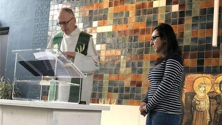 Iglesia lleva más de un mes realizando misas sin parar para que una familia no sea deportada