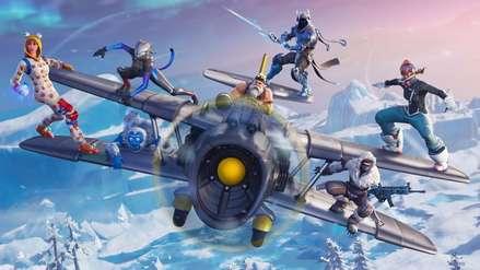 Fortnite Temporada 7 Mapa.Fortnite Temporada 7 Aviones Skins Para Armas Y Nieve En