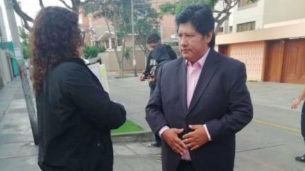"""Chávez Cotrina: """"Concluida la detención preliminar, la fiscal solicitará la prisión preventiva de Edwin Oviedo"""""""