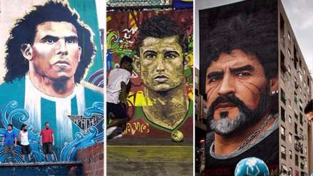 Diego Maradona: los 10 mejores grafitis dedicados a grandes jugadores