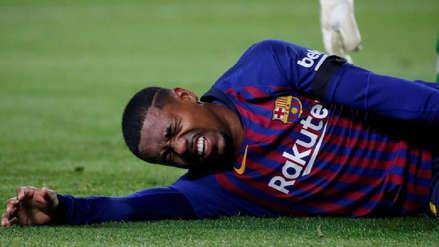 Barcelona: Malcom sufrió un esguince de tobillo | ¿Cuánto tiempo estará fuera?