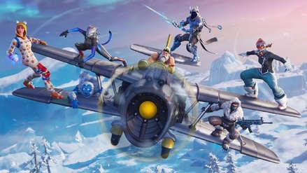 Fortnite Temporada 7: Aviones, skins para armas y nieve en el mapa en la más grande actualización del año