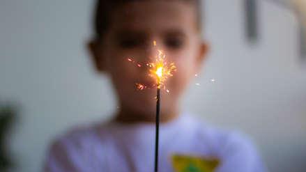 Los casos de quemaduras por pirotécnicos en niños se triplican en Navidad