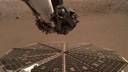 ¿Cuál es el sonido en Marte? La sonda InSight grabó por primera vez las vibraciones de viento del Planeta Rojo