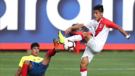 Selección Peruana Sub 17 venció 2-0 a Ecuador en amistoso internacional