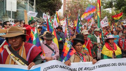 Bolivia | Un muerto y dos policías heridos tras protesta contra reelección de Evo Morales