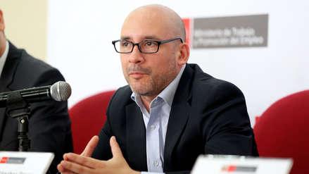 El ministro de Trabajo, Christian Sánchez, renunció al cargo