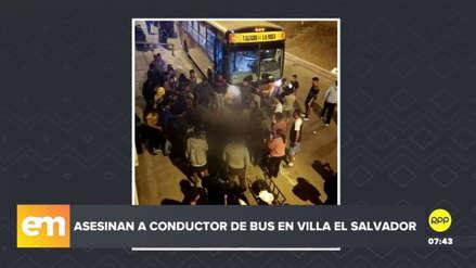 Presuntos sicarios asesinaron al conductor de un bus en Villa El Salvador