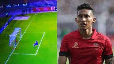 Christofer Gonzales arremetió contra el arbitraje tras el gol que no le validaron