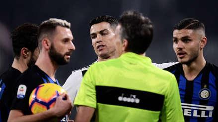 Con Cristiano Ronaldo, Juventus ganó 1-0 a Inter de Milán y sigue firme como líder