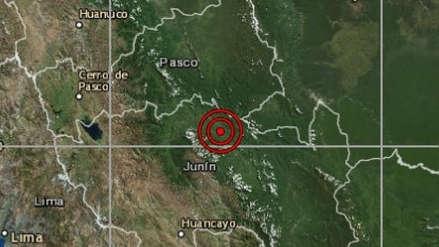 Junín | Un sismo de magnitud 4.0 sacudió Satipo esta noche