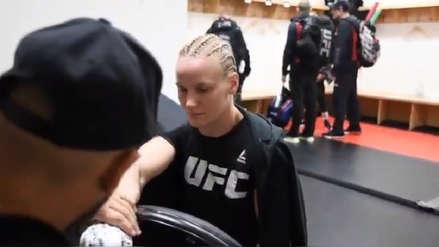 UFC 231: Valentina Shevchenko llegó al evento y prepara su 'artillería' contra Joanna Jedrzejczyk