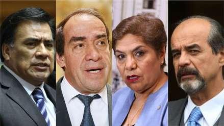 Hasta dos décadas: Los congresistas que tienen más años en el Parlamento