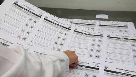 Presidente del JNE instó a ciudadanos a emitir voto responsable en Referéndum 2018