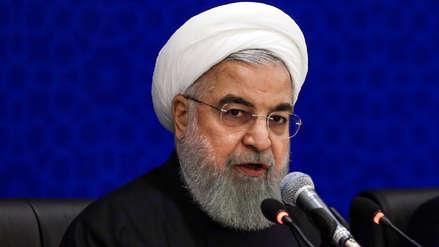 Irán: Las sanciones de Estados Unidos son una forma de