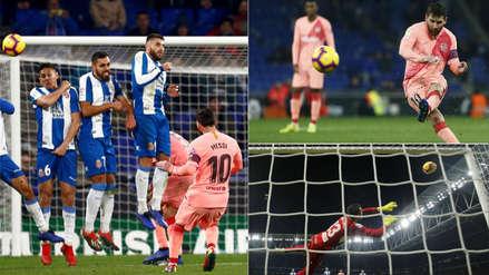 Lionel Messi: 10 fotos de su espectacular exhibición en la goleada de Barcelona