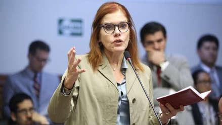 "Mercedes Aráoz tras votar en el Referéndum: ""Es un buen momento para que sentemos cabeza"""