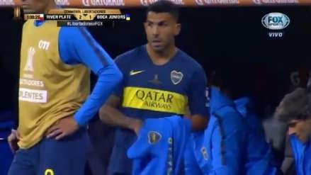 River vs. Boca EN VIVO: el lamento de Carlos Tévez tras el gol de los Millonarios