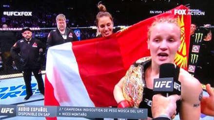 UFC 231: Valentina Shevchenko se proclamó campeona de peso mosca tras vencer a Jedrzejczyk