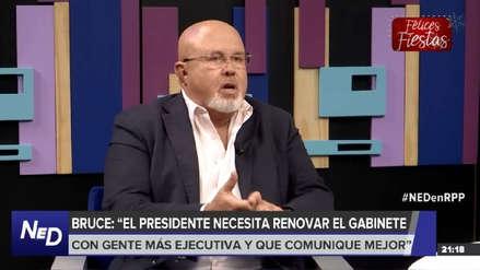 Carlos Bruce: El Gobierno no conversa