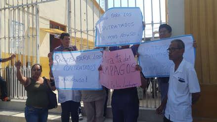 Personal médico protesta en Lambayeque por falta de pagos hace cinco meses