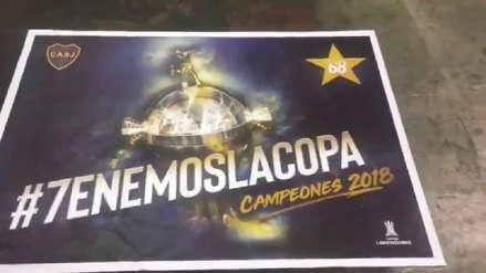 Se filtraron los afiches que Boca Juniors tenía preparados por si ganaban la Libertadores