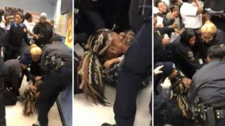 EE.UU. | Video sobre violento arresto de mujer con su bebé desata la indignación en Nueva York