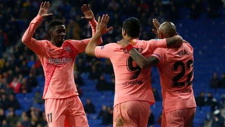 ¿Jalón de orejas? Dembélé volvió a llegar tarde a los entrenamientos y el DT de Barcelona no lo pasó por alto