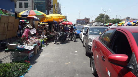 Chiclayo | Más de 9 mil ambulantes ocupan alrededores del mercado Modelo