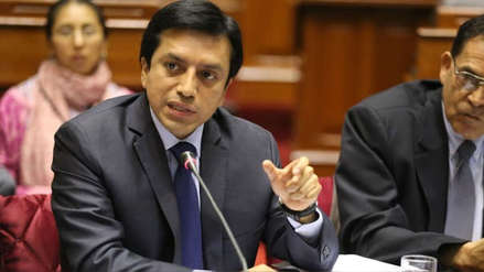 Gilbert Violeta espera que el Gobierno y la bancada PpK