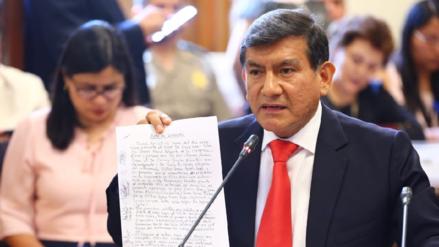 Congresistas presentaron moción de interpelación contra el ministro Carlos Morán