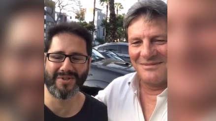 Guitarrista de Ni Voz Ni Voto y Rafael Rey se amistaron tras agresión [VIDEO]