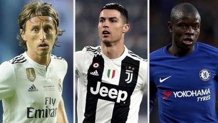Los favoritos para integrar el equipo del año de la UEFA