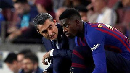 Barcelona | Ernesto Valverde sobre sobre Dembélé: